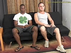 Ty Tucker breaks Robbie, replacement BJ with him and fuck his tight black ass...