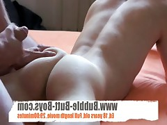 Bubble Butt Twink Ass slapped and sucks cock ***********