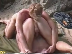 Kip moaning with pleasure as Jason fucks his hole