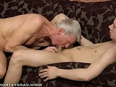 Steve likes to play rough and some young guys can keep up with his demands for..