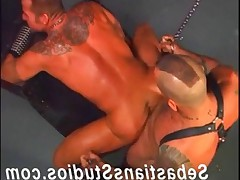 Real Men Fuck Harder! Check out these 2 hot fuckers pig sex! Clint Christopher..
