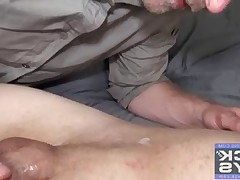 25 hot cum-eating facial Cumshots all shot in the throat sperm hungry Aaron..