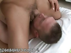 Blowjob and cumshot before heading to the gym, sounds good