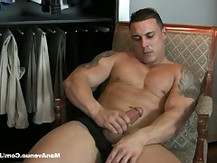 "Check out ""Adam Santos"" in this hot video of him masturbating his.."