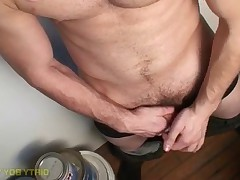 Hot amateur Jimmy Roman has a great body, sexy breasts and hard uncut cock. He..