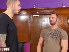 hairy bears in action on butchdixon, Harley Everett and Fabio Stallone,..