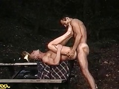 Hot guy gets his ass pounded hardcore his gardener!