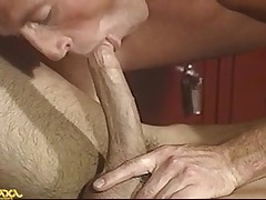 Scott slides his huge cock in ass Dean pumping him hard!