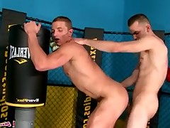 Marcus Mojo gets his hole plowed in the gym, Brad Foxx