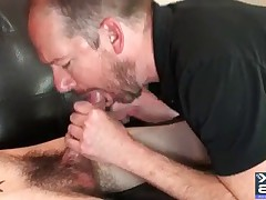 30 hot cum-eating facial Cumshots all shot in the throat sperm hungry Seth..