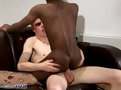Greg Hunter returns after a long absence, and he is ready to fuck Leo Fox!