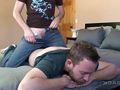 Aaron and Seth to fuck bareback on BarebackPlace.com