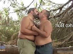 Marco and Victor Bulto Karmen like to fuck outdoors. When Fran JB passes by on..