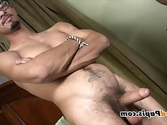Check out this sexy Latin with uncut Latin dick getting sucked off. Check out..