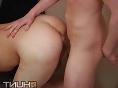 Alton Mason bends over and goes balls deep in his ass.