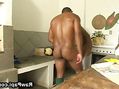 See this horny and wild latino gays enjoying their Barebacking action in the..