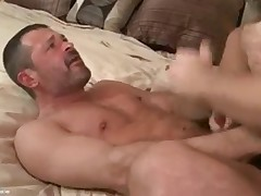 3 men from different decades to connect in a tasty three-way