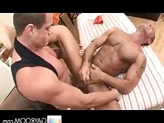 John Marcus get his deep prostate massage after getting a relaxing massage.