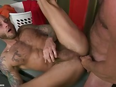 Matt Drake and share a fetish for dressing rooms and Jock Straps