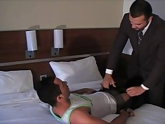 Hot sex with the manager of the hotel, which was designed to correct some of..