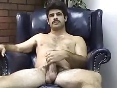 hot dad with a nice cock strokes